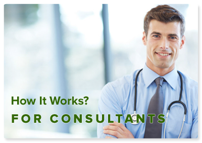 How it works for Consultants